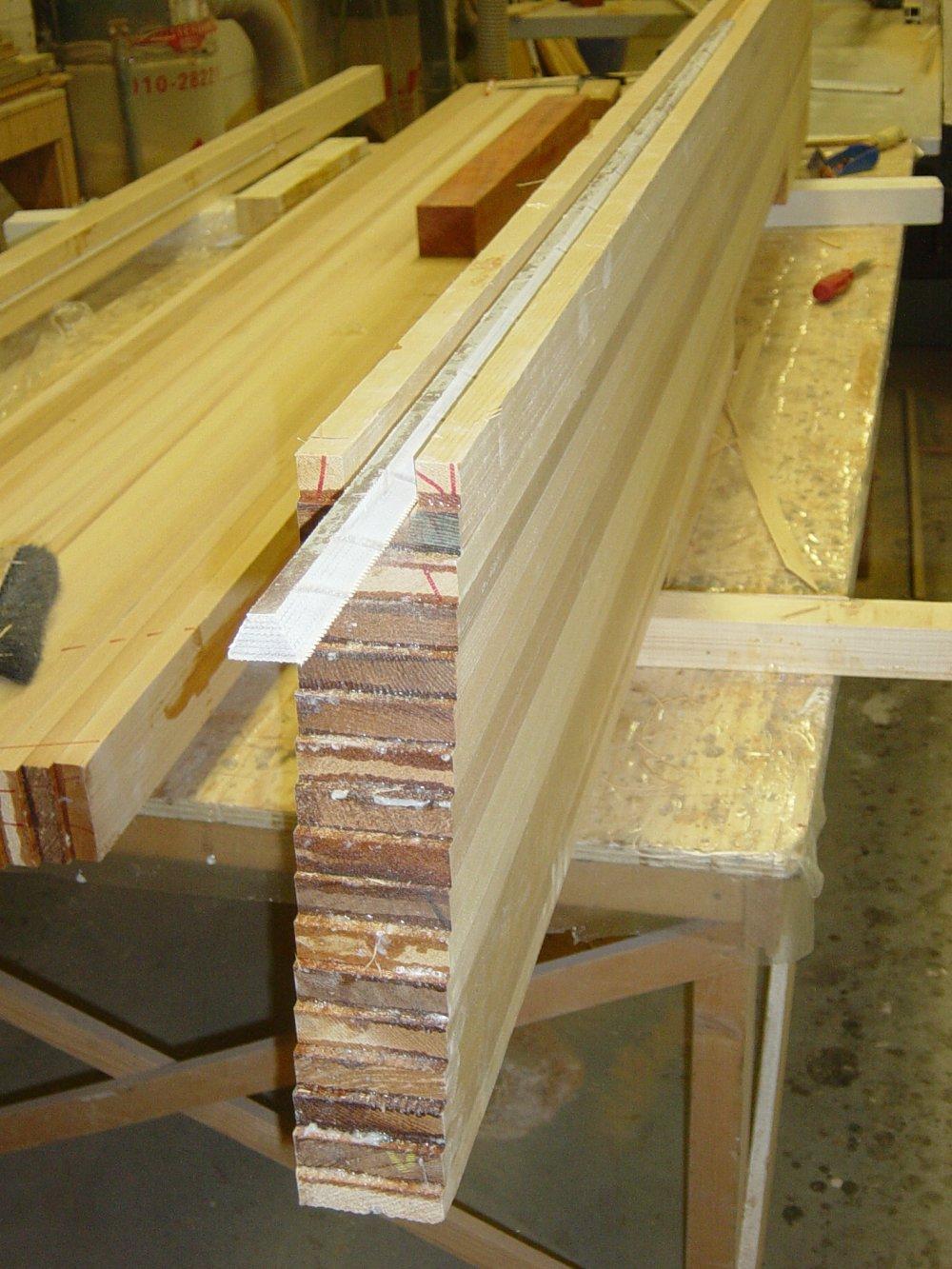 Zeilersforum.nl: De bouw van zwaard en zwaardkast (1/5)