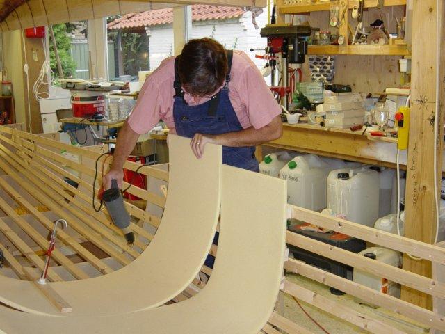 Boat Construction Materials : Zeilersforum mijlpaal